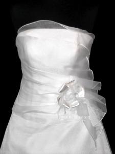 Pronuptia - Noces de Cyprès (organza drapé)