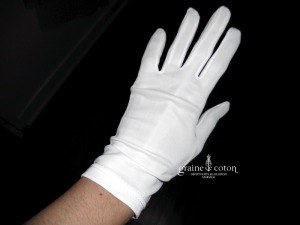 Matrimonia - Gants courts blancs