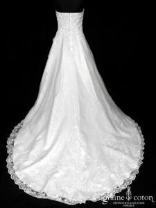 Divina Sposa - Poetica (dentelle organza satin drapé)