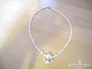 Création Bochet - Collier en perles nacrées