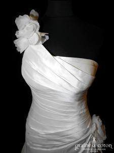 Elianna Moore - Bellita (bretelle mikado drapé)