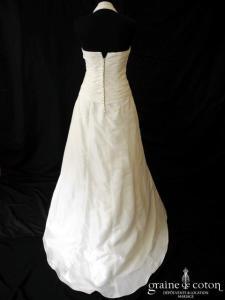 Emy Lee - Capucine (coeur drapé taffetas tour de cou)