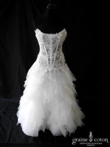 Cymbeline - Tiffen (dentelle tulle taille basse blanche)