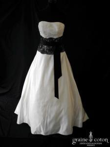 Les mariées de Talia - Allégorie (noire et blanche dentelle coeur satin)