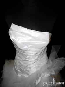 Cymbeline - Espera (courte et longue taffetas mouchoirs tulle asymétrique drapé)