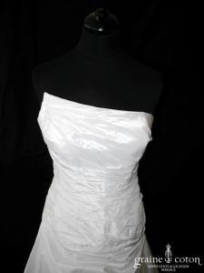 Cymbeline - Floria (taffetas drapé asymétrique)