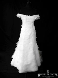 Emelie Costa pour Cymbeline - Crystal (dentelle bandes organza bretelles manches)