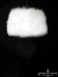Pronovias - Étole en duvet de cygne ivoire clair