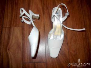 Dejean - Escarpins (chaussures) ivoire clair
