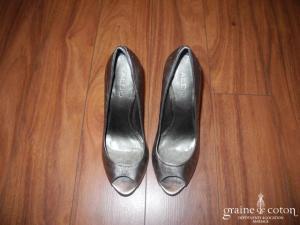 Aldo - Escarpins (chaussures) en cuir bronze