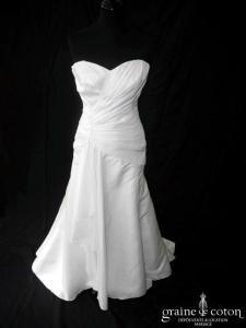Linea Sposa pour Priam - Brescia (taffetas drapé coeur)
