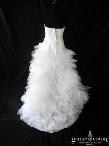Cymbeline - Espera / Fauvette (courte et longue taffetas mouchoirs tulle asymétrique drapé)