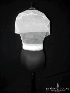 Cymbeline - Boléro Dora en tulle ivoire clair (cache coeur)
