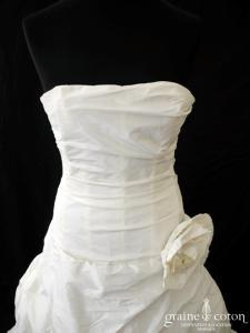 Cymbeline - Cybela (taffetas drapé laçage)