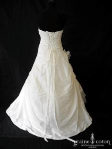 Les mariées d'Elodie - Baltimore (taffetas drapé laçage)
