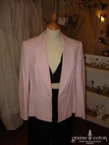 Together (Helline) - Veste manches 3/4 rose