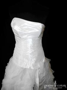 Cymbeline - Euriel (courte devant longue derrière organza taffetas drapé taille basse laçage)