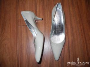 Free Lance - Escarpins (chaussures) en cuir vernis ivoire