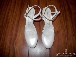 Avant Goût - Escarpins (chaussures) en cuir nacré