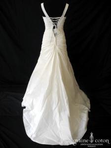Eglantine Création - Amitié (bretelles taffetas drapé laçage taille basse)