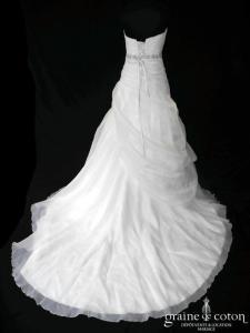 Elianna Moore - Cleo (laçage drapé organza coeur taille haute)