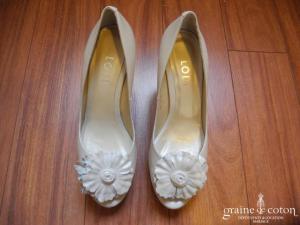 Lodi - Escarpins (chaussures) en cuir nacré