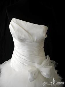 Cymbeline - Oui n°43 (courte et longue mikado mouchoirs tulle taille basse drapé noeuds laçage)