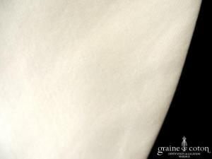 Cymbeline - Boléro Danse/Tourbillon en soie sauvage ivoire