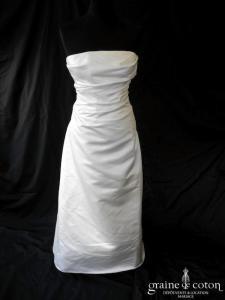Cymbeline - Espiègle (laçage satin drapé droite sirène)