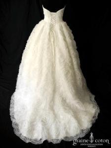 Pronuptia - Ariake (laçage organza drapé coeur)