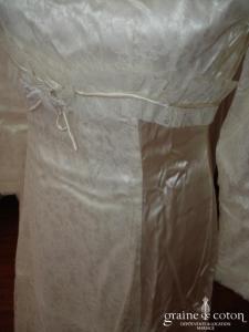 Neyret - Robe de mariée ancienne haute couture (satin)