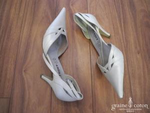 Avant Goût - Escarpins (chaussures) ivoires nacré
