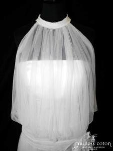 Pronuptia - Adèle (fluide tulle de soie bretelles années 20)