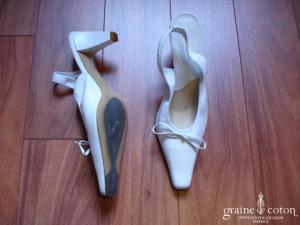 Elizabeth Stuart - Chaussures en cuir blanches