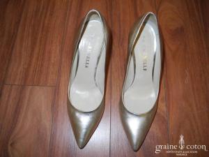 De Grenelle - Escarpins (chaussures) platine