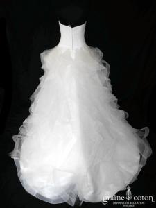 Pronovias - Belia (drapé tulle volutes)