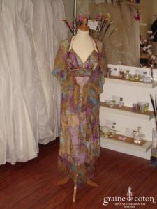René Derhy - Robe mi-longue et chemisier en voile (non stocké en boutique, essayage sur demande)