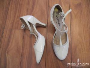 Repetto - Salomés (chaussures) vernis ivoire