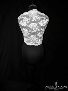 Ian Stuart - Étole Cadillac en dentelle ivoire