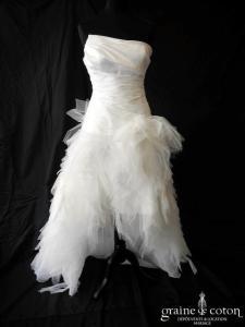 Cymbeline - Espera (courte et longue taffetas mouchoirs tulle asymétrique drapé taille basse bustier)