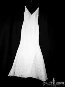 Pronovias - Maricel (sirène dentelle bretelles dos-nu)