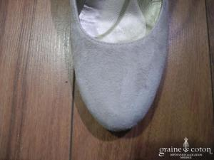 Georgia Rose - Escarpins Brenda (chaussures) en nubuck ivoire