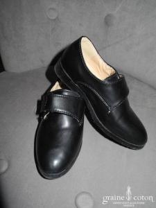 Chaussures noires petit garçon