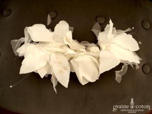 Faragé - Coiffe fleurs