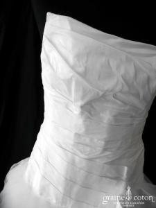 Cymbeline - Alisson / Espera / Fauvette (courte et longue taffetas mouchoirs tulle asymétrique drapé)
