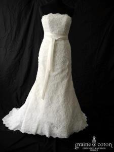 White One - Tamara (sirène dentelle bustier)