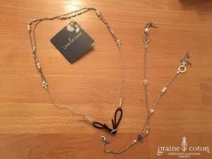 Line et Lune - Headband perles et bijou de dos