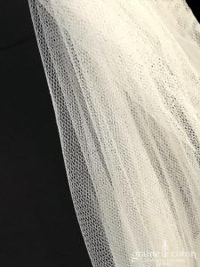 Pronovias - Voile mi long en soft tulle long ivoire clair