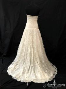 Delphine Manivet - Aristote (dentelle soie taille basse empire bustier bohème fluide)