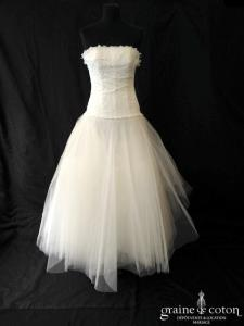 Cymbeline - Guster (bustier dentelle tulle princesse taille basse fluide)